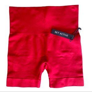 NWT SETactive Sculptflex Shorts Rare limited edition color